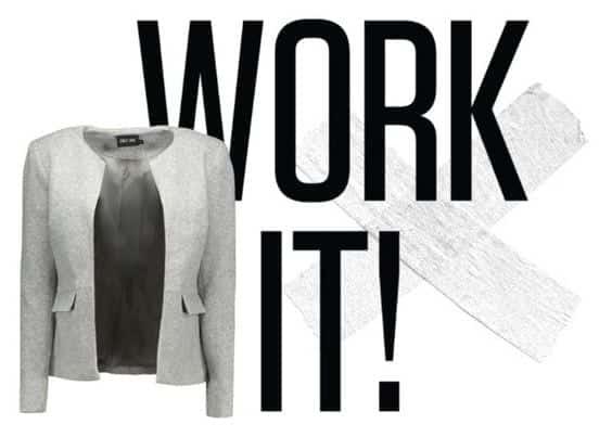 4 x de sollicitatie outfit met een grijze blazer