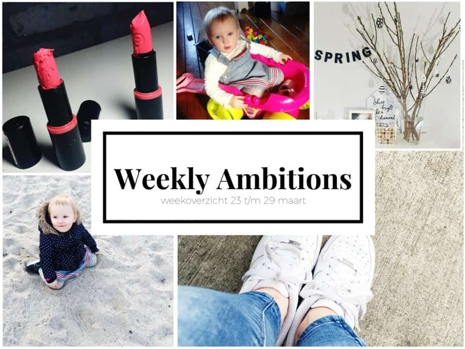 Weekly Ambitions #2 : Terror Leia en zomertijd