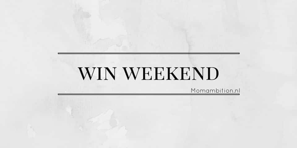 Aankondiging Win Weekend