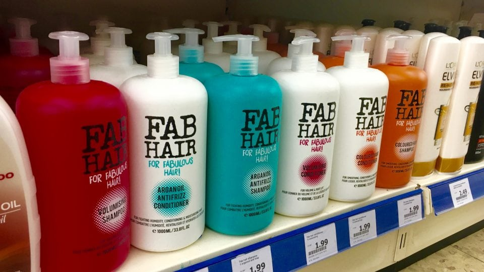 FAB Hair Arganolie Shampoo & Conditioner | Action Review