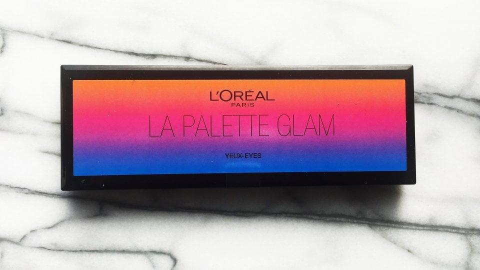 La Palette Glam Eyes van L'Oreal met Herfst look
