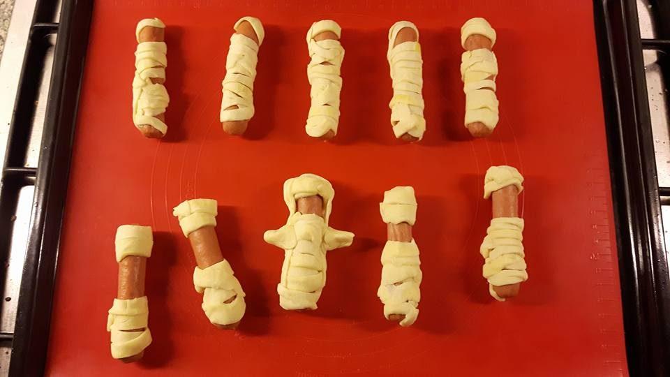griezelige halloween hapjes mummies