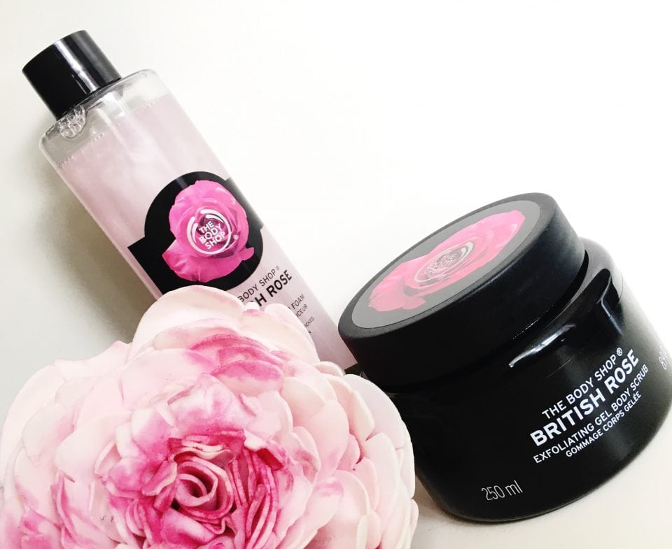 The Body Shop British Rose Collection Review