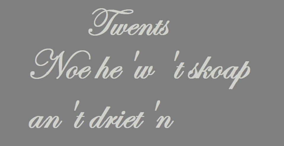 Melanie | Twents dialect: mijn haat-liefdeverhouding