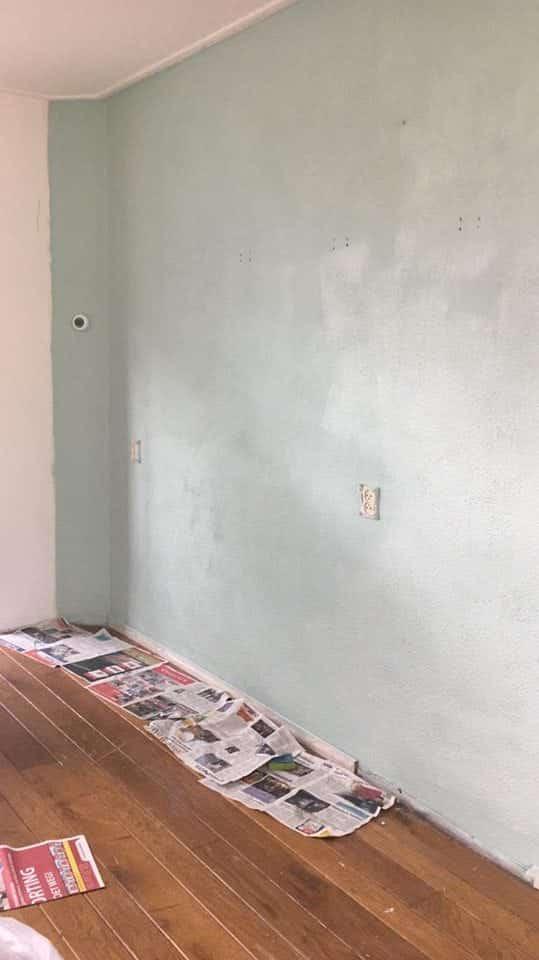 Woonkamer makeover #1 | Een groene muur?