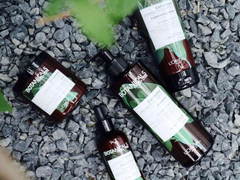 Bewust krachtig haar met de nieuwe L'Oreal Botanicals Fresh Care Coriander lijn?