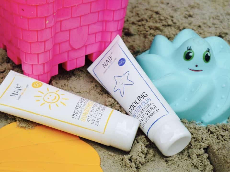 5 adviezen over het smeren van zonnebrandcrème bij kinderen