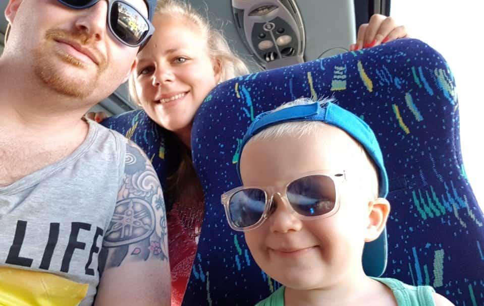 Throwback naar Melanie's vakantie – foto's en verhaaltjes