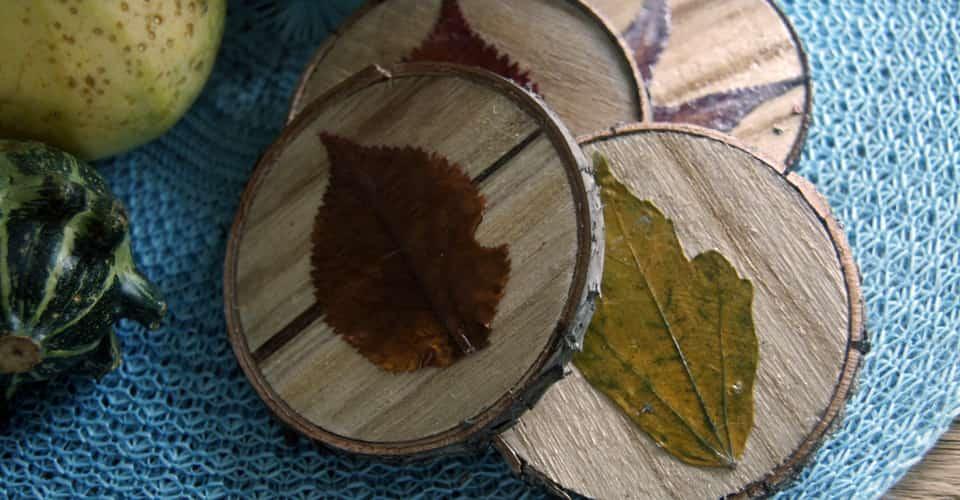 Herfst DIY | Onderzetters, herfst op je tafel