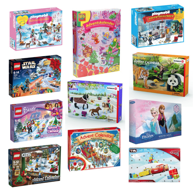 6x de Allerleukste speelgoed adventskalenders voor kids!