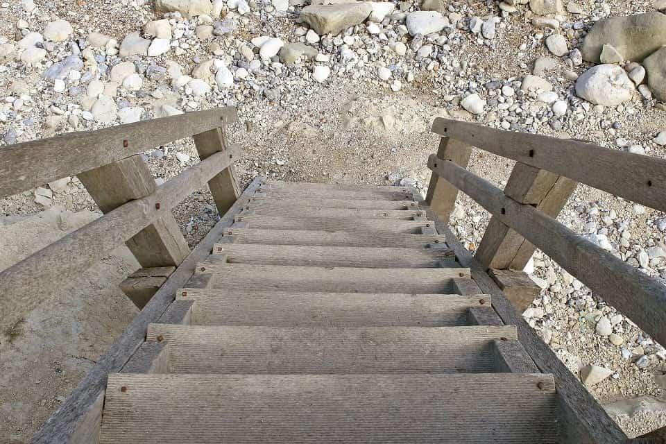 Peuter van de trap gevallen, dat zou mij nóóit overkomen