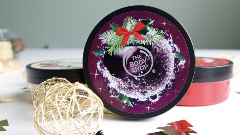 The Body Shop Seasonal Body Butters Frosted Berries Frosted Plum Vanilla Chai Review