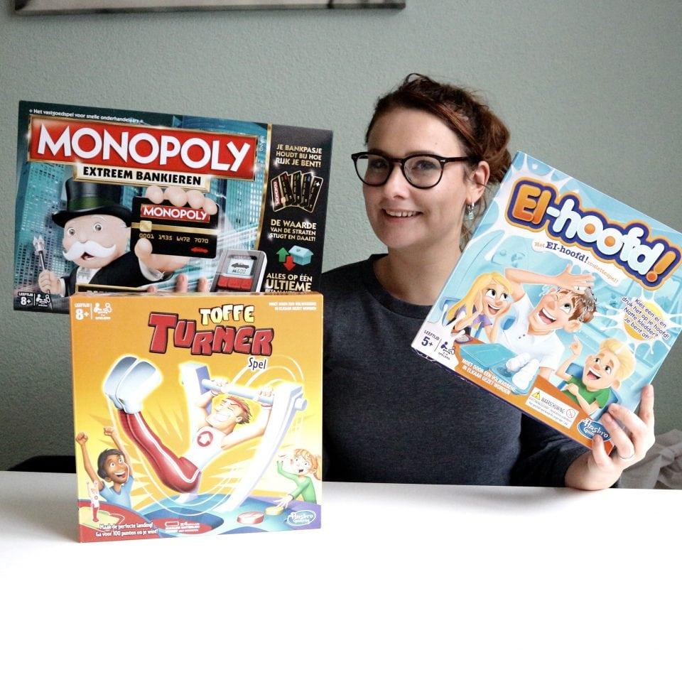Win een spellen pakket van Hasbro voor de feestdagen!