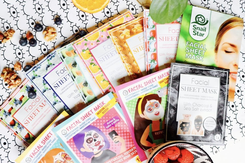 Mask Monday | 11 x Facial Sheet Maskers van Action