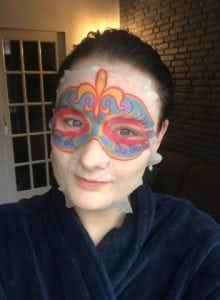 selfie sheet masker van action