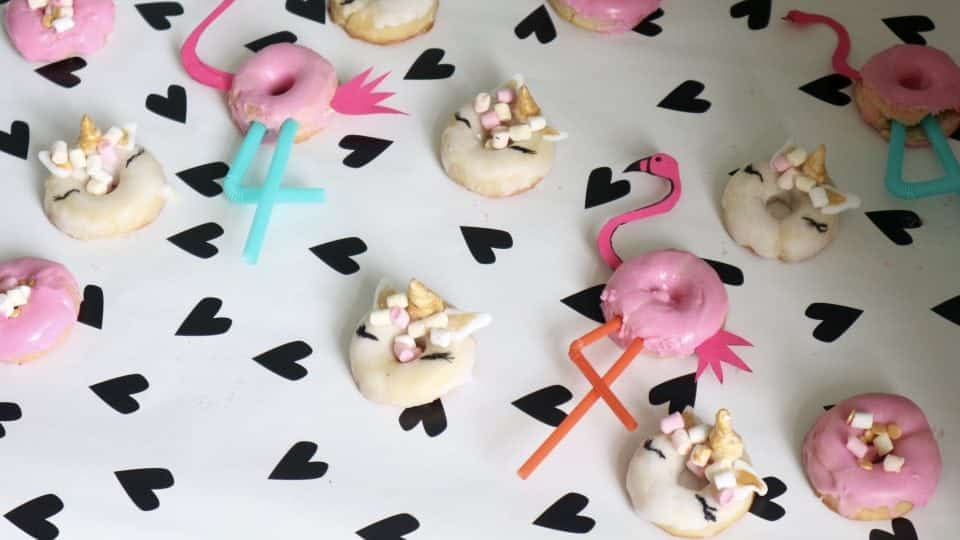 Challenge accepted: Unicorn donuts en Flamingo Donuts