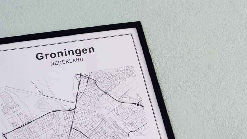 Oh Groningen, ik mis je zo! Groningen aan de muur