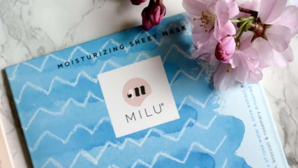 Mask MOnday Nieuwe liefde : (sheet) maskers van MILU Cosmetics Momambition.nl
