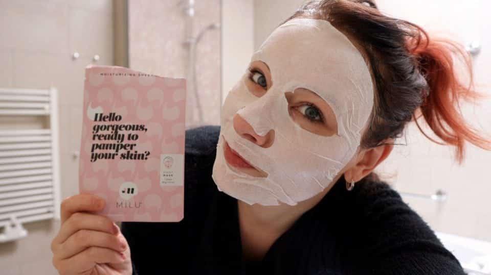 April 2018 Mask MOnday Nieuwe liefde : (sheet) maskers van MILU Cosmetics Momambition.nl