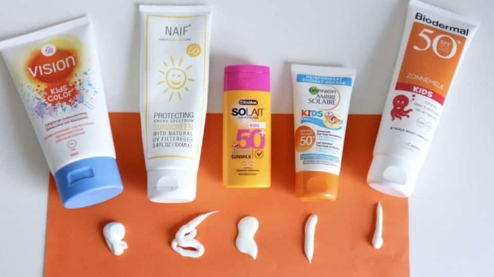 5x Zonnebrandcrème Voor Kinderen Getest Momambitionnl Lifestyle