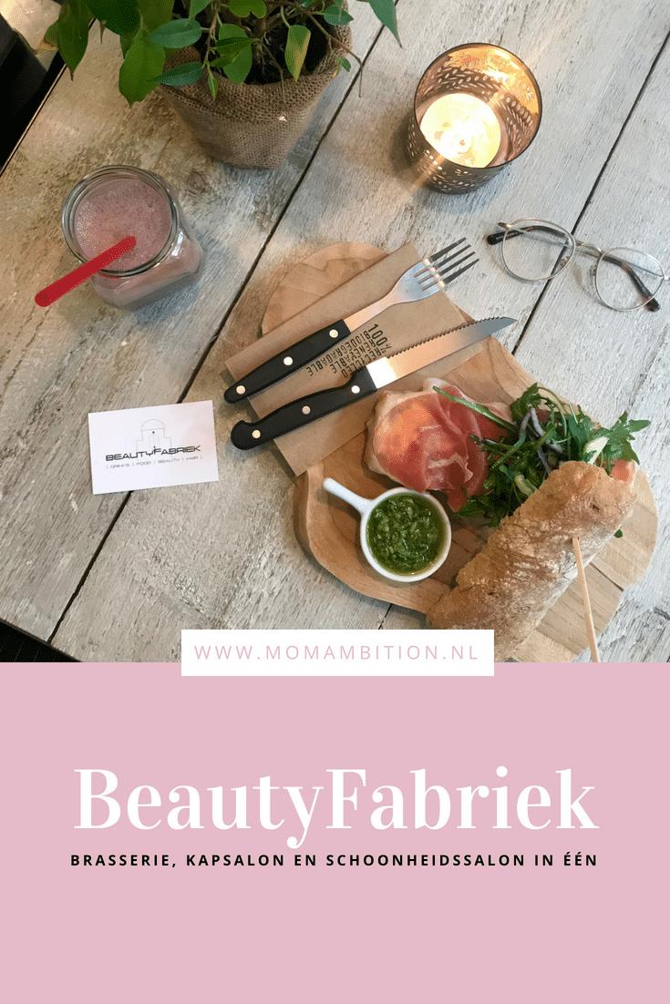 Beautyfabriek Groningen | Eten, drinken & jezelf pamperen onder één dak
