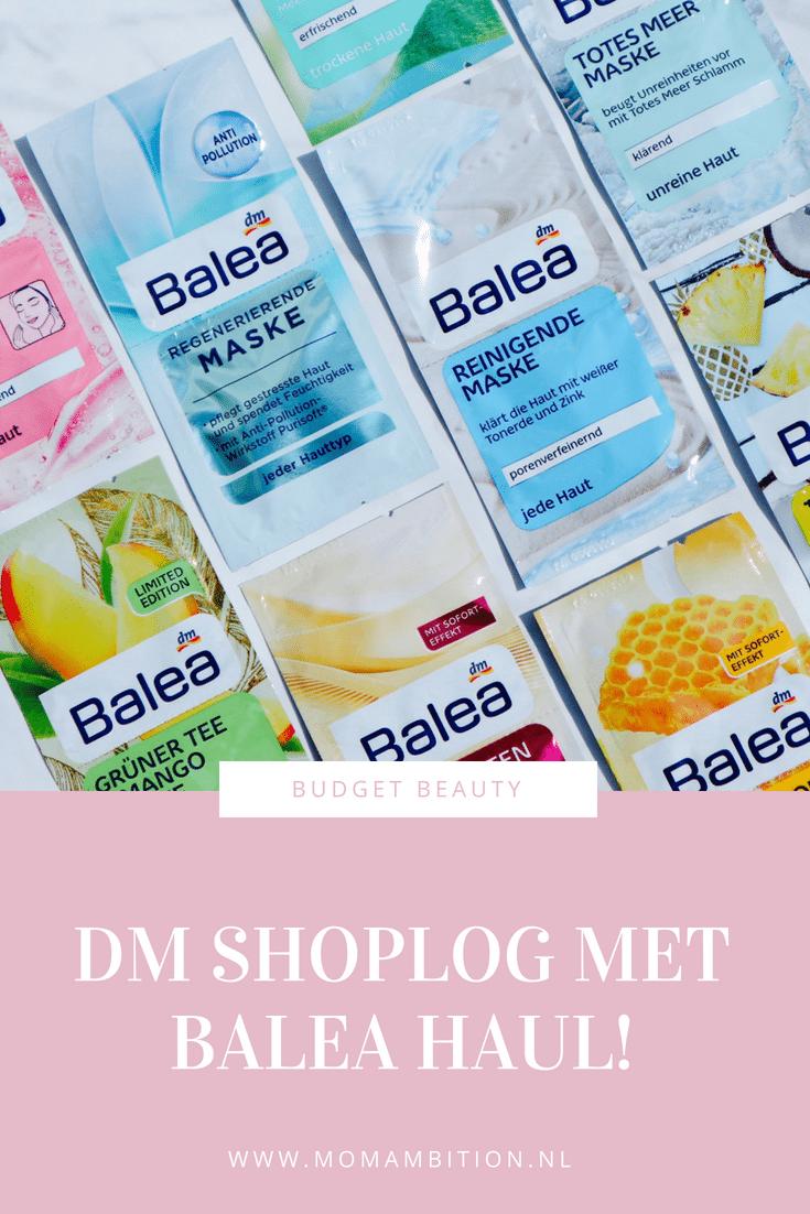 Mega DM Shoplog : Mijn eerste Balea HAUL!
