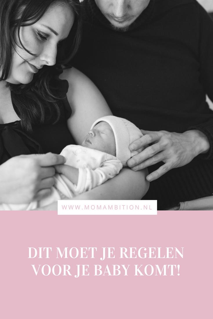 wat je moet regelen voor baby er is | 9 tips