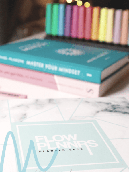 Review Flow Planners 2019 Agenda | #8daysofchristmas2018