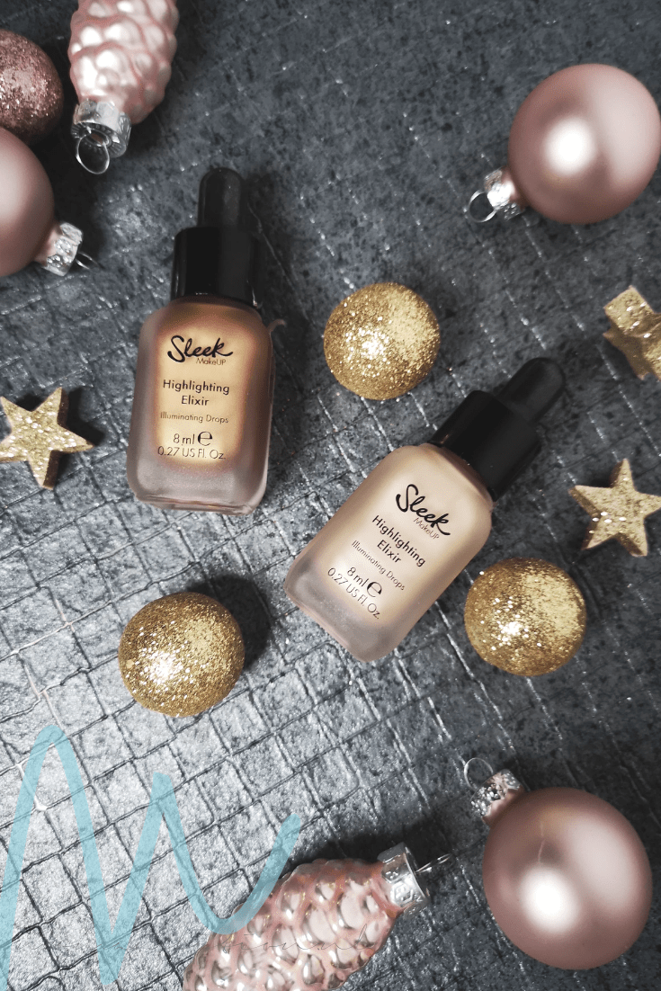Sleek – Highlighting Elixir Illuminating Drops review | #8daysofchristmas2018 vloeibare highlighter budget beautyblog