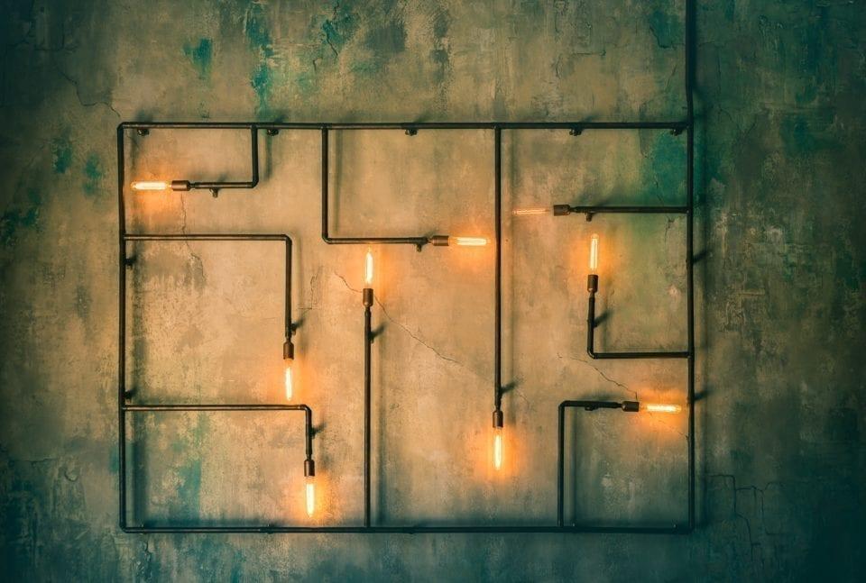 In 5 stappen naar een vernieuwend, industrieel interieur industriele lamp