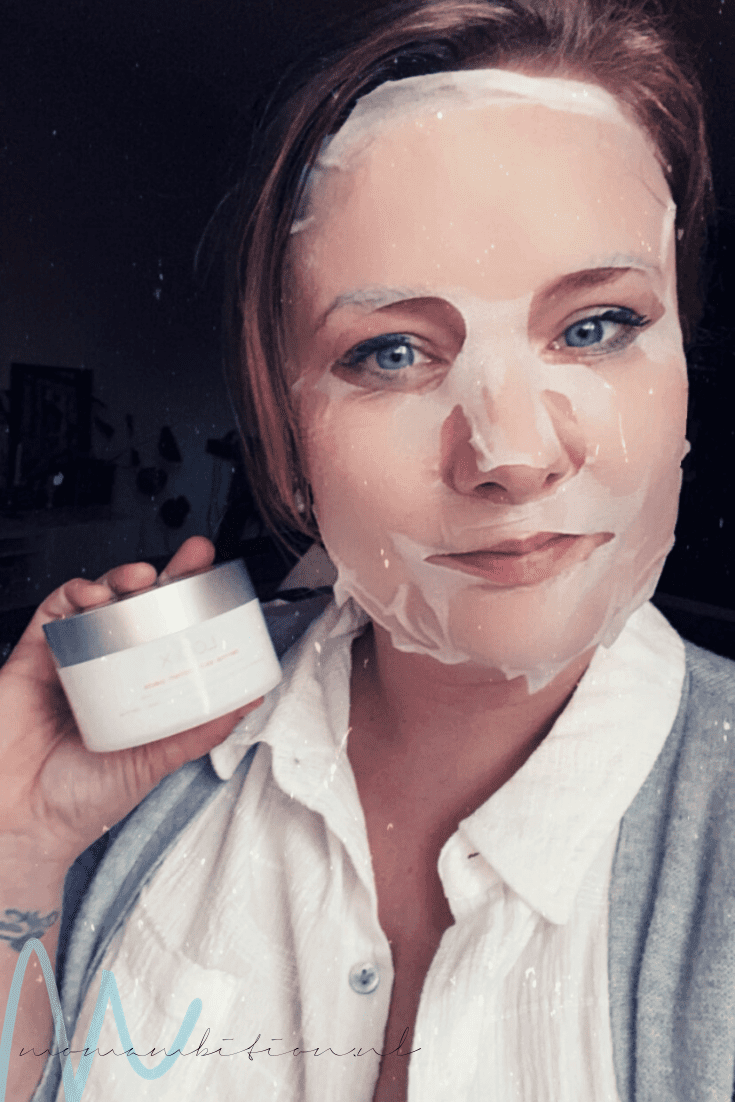 LOOKX Anti-aging sheet mask review derma skin polish pads